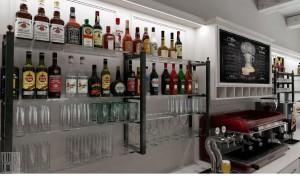 arredamento bar novara vista bancone